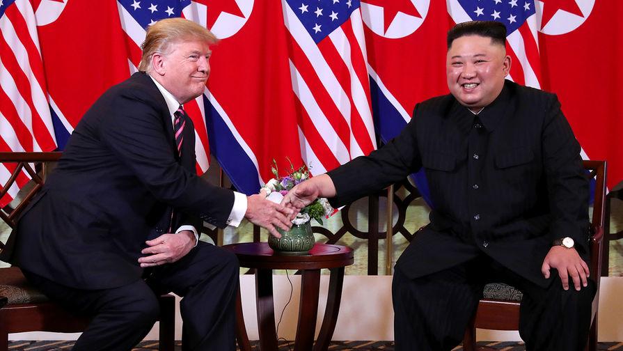 """По словам Трампа, он провел """"великолепную встречу"""" с Ким Чен Ыном"""