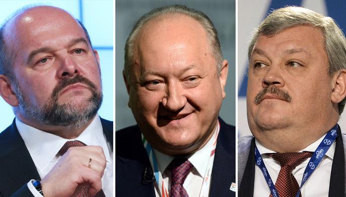 Игорь Орлов, Владимир Илюхин и Сергей Гапликов