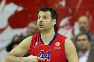 Теодорос Папалукас вернулся в московский ЦСКА