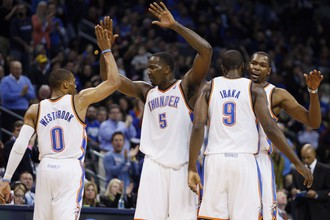 «Оклахома-Сити» продолжает лидировать в Западной конференции НБА