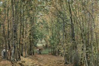 Камиль Писсарро, Лес в Марли