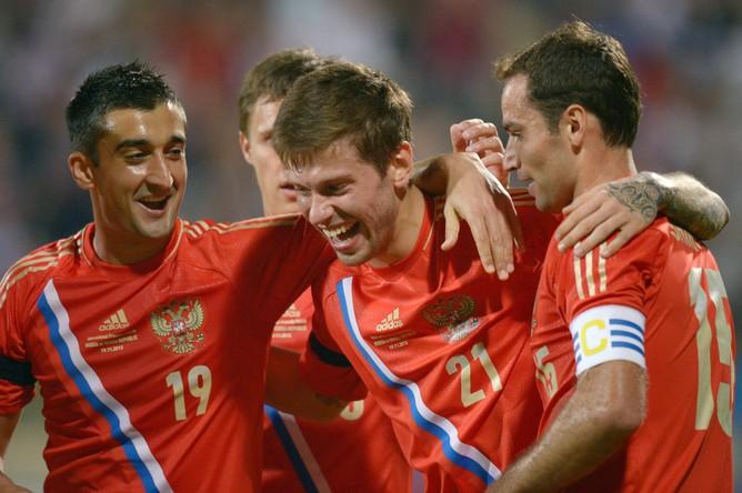 Сборная России по футболу одержала победу в товарищеском матче над Южной Кореей