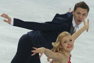 Российские танцоры Екатерина Боброва и Дмитрий Соловьев.