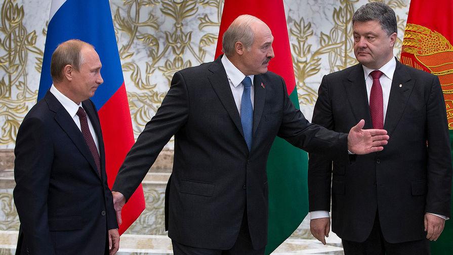 Лукашенко использует Украину