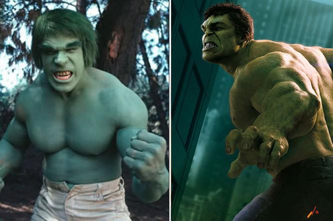 Халк (1978) и (2012)