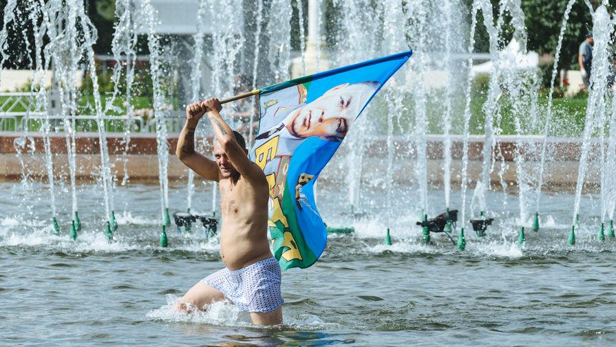 Празднование Дня ВДВ на ВДНХ в Москве, 2016 год