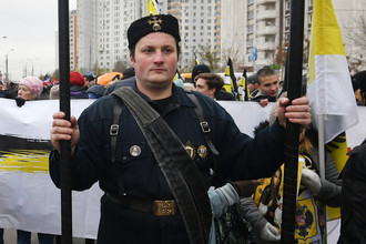 Участники Русского Марша в Люблине, 4 ноября 2017