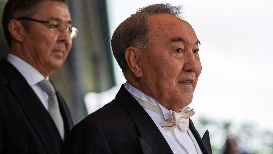 Президент Казахстана Нурсултан Назарбаев на интронизации императора Нарухито в Токио, 22 октября 2019 года