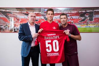 22-летний полузащитник «Челси» Марио Пашалич выбрал 50-й номер для выступлений за «Спартак» на правах аренды