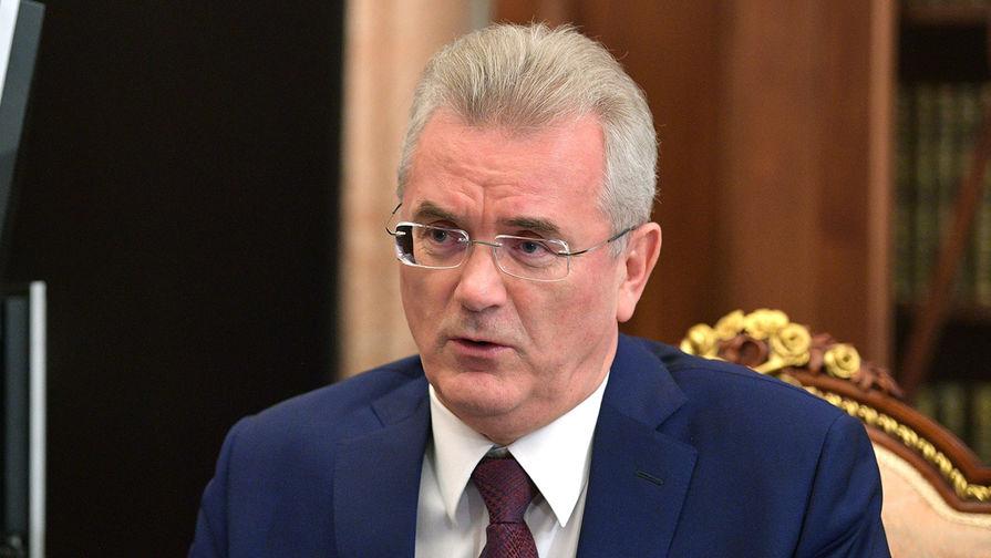 Путин поддержал решение Белозерцева баллотироваться на новый срок