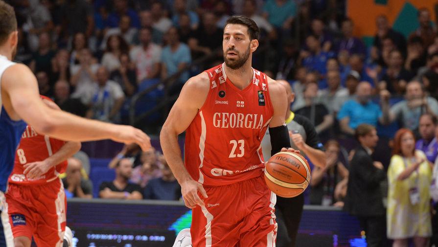 Грузинский баскетболист ЦСКА Торнике Шенгелия