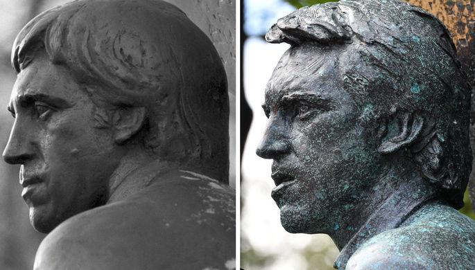 Как изменился памятник Высоцкому