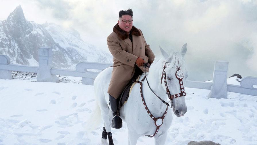 Что символизирует конь Ким Чен Ына