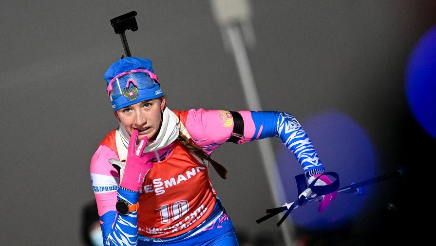 Биатлонистка Светлана Миронова