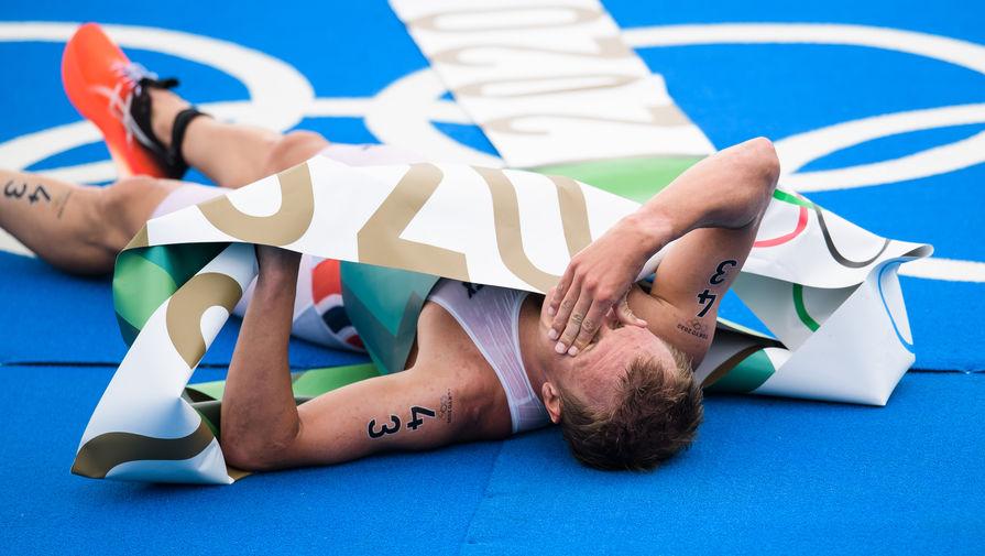 Завоевавшему золото Игр триатлонисту стало плохо после финиша