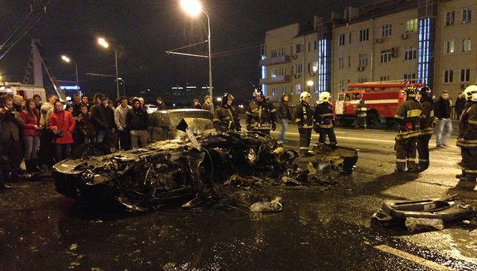 В Москве закрыли дело о ДТП c Ferrari на Крымском мосту в связи с примирением сторон