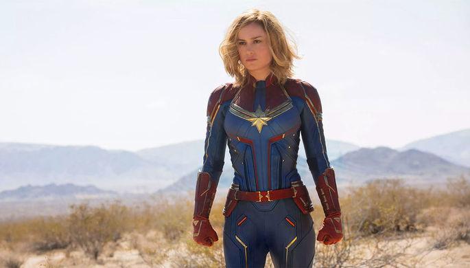 Кадр из фильма «Капитан Марвел» (2018)