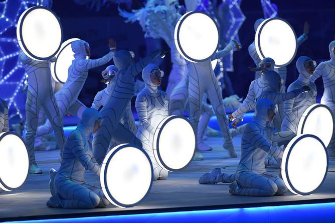Церемония закрытия Универсиады-2019 в Красноярске, 12 марта 2019 года