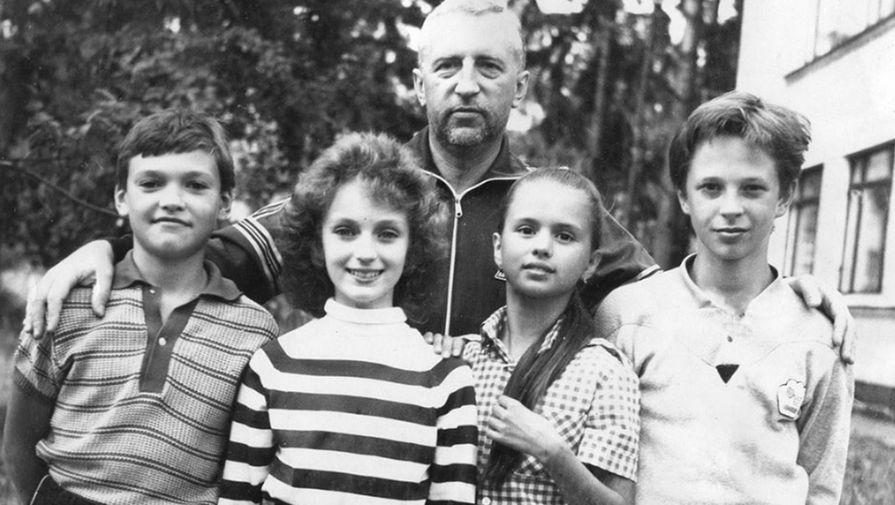12-летняя Анна Семенович на спортивных сборах