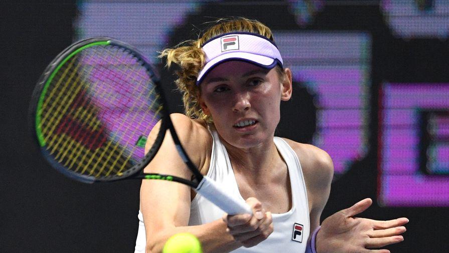 Александрова вышла в финал ВТБ - Кубка Кремля после отказа соперницы