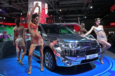 Репортаж «Газеты.Ru» c Международного московского автосалона 2014