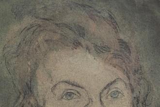 Пауль Клее. Без названия (Лили Клее-Штумпф). Около 1906. Карандаш, акварель, бумага. Центр Пауля Клее, Берн. Дар Ливии Клее