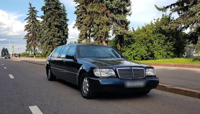 Президентский лимузин пустят с молотка