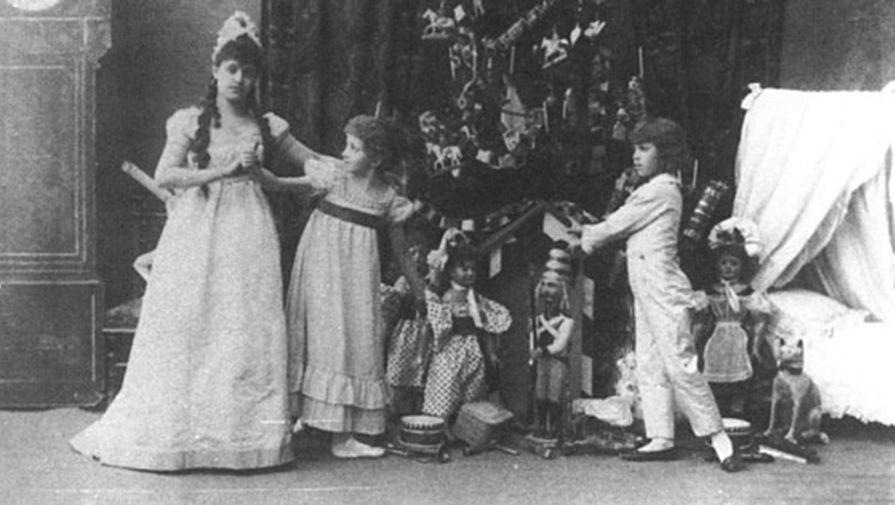Фрагмент спектакля «Щелкунчик» в постановке Императорского Мариинского театра, 1892 год
