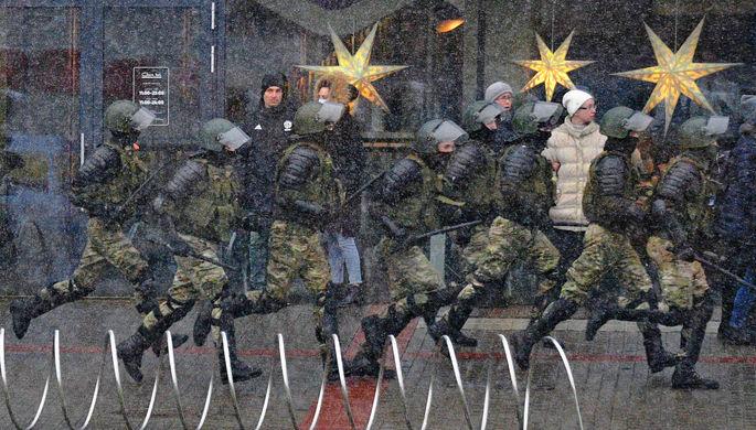 «Верым, можам, пераможам!» В Белоруссии прошли акции протеста