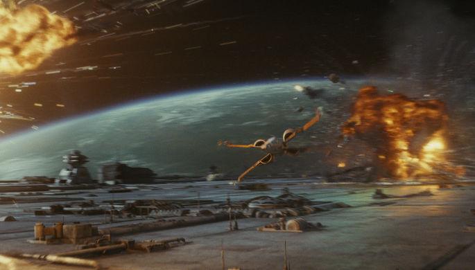 Кадр из фильма «Звездные войны: Последние джедаи» (2017)