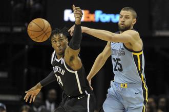Матч регулярного чемпионата НБА «Мемфис Гриззлис» — «Бруклин Нетс»