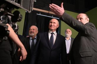 Президент России Владимир Путин во время посещения ВГИК, 17 октября 2019 года
