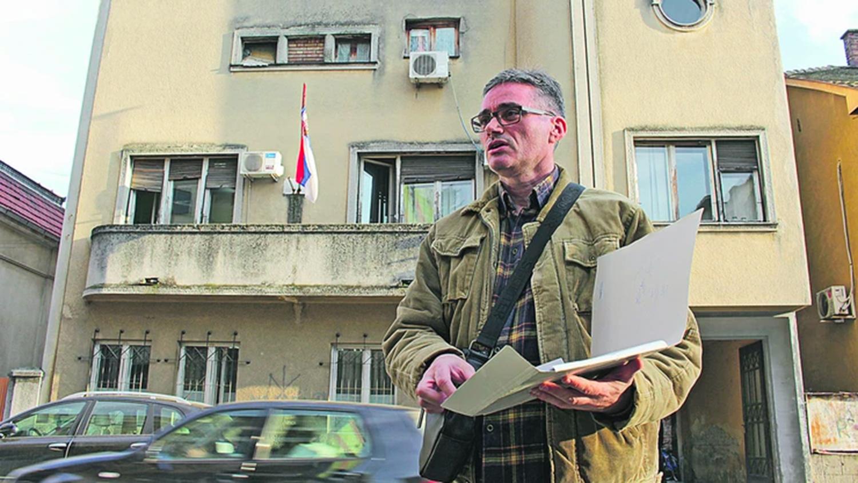 Дом на улице Лазы Лазаревича и Александар Бучин