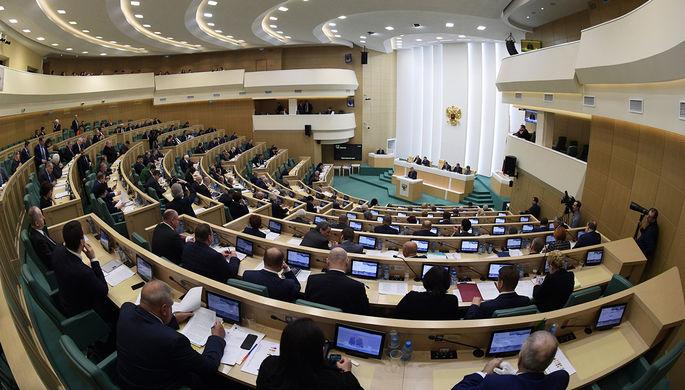 Входите в состав России: Совфед дал совет Украине