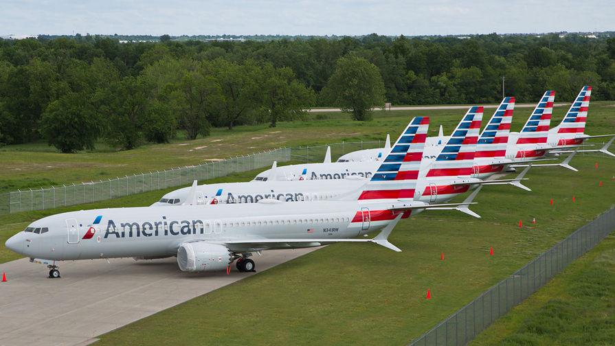 В США самолеты Boeing 737 MAX отправили на «кладбище»