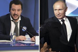 Вице-премьер Италии: «Путин — великий президент»