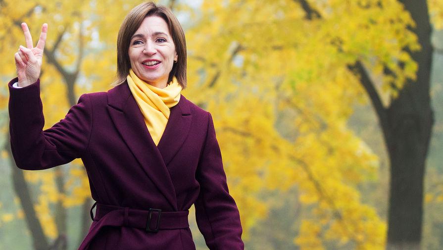 Санду заявила, что при ней Молдавия построит прагматичный диалог с РФ и США