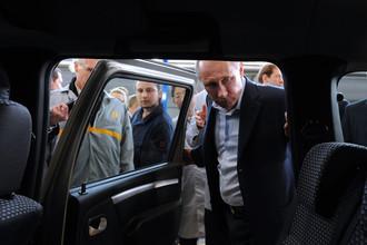 Владимир Путин приехал в Тольятти на запуск производства новой модели Lada Largus