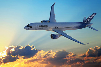 Канадская Bombardier может создать 160-местную версию самолета CSeries