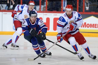 На 32-й минуте Илья Ковальчук с передачи Александра Радулова запускает шайбу в пустые ворота и удваивает счет.