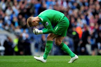 Вратарю «Манчестер Сити» Джо Харту удалось принести победу над «Эвертоном»