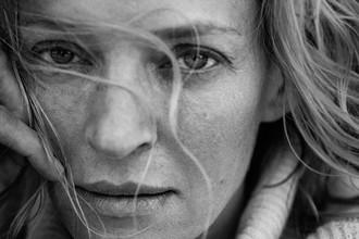 Актриса Ума Турман в календаре Pirelli на 2017 год