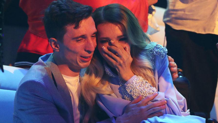 Участница от России Юлия Самойлова и ее супруг, музыкант Алексей Таран