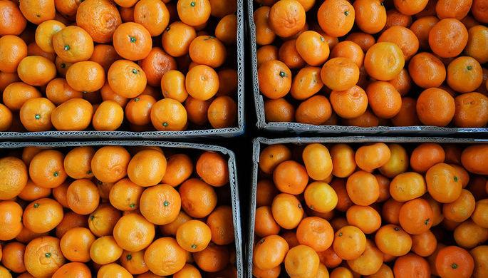 Роспотребнадзор внес ясность в сообщения о зараженных гриппом мандаринах