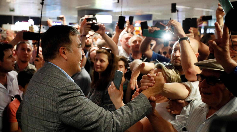 Саакашвили рассказал о цели возвращения на Украину