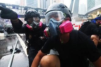 Беспорядки в центре Гонконга, 25 августа 2019 года