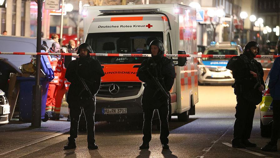 В немецком Ханау нашли тело стрелка рядом с трупом другого мужчины