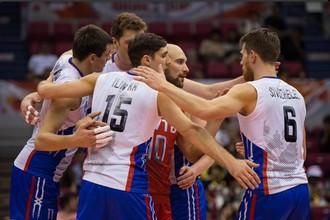 Сборная России по волейболу обыграла Тунис