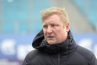 Старший тренер «Тосно» Владимир Бесчастных
