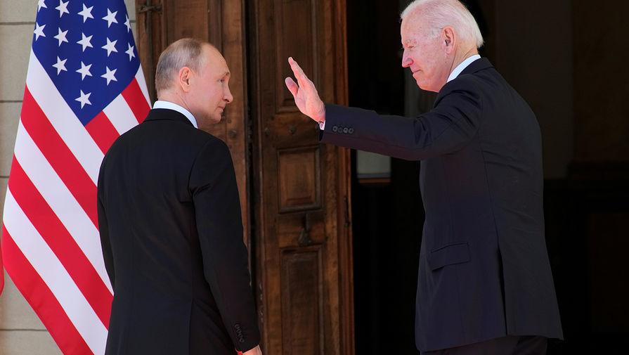 Байден посоветовал Путину подумать, нужно ли России увеличивать зависимость от Китая